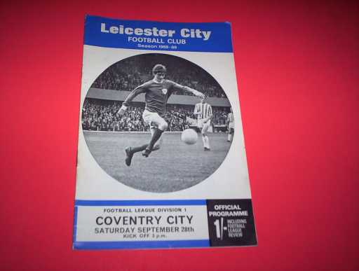 LEAGUE 1960s » 1968/69 LEICESTER V COVENTRY