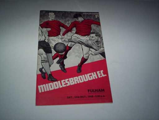 LEAGUE 1960s » 1968/69 MIDDLESBROUGH V FULHAM