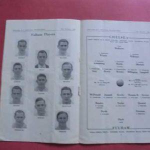 1949/50 CHELSEA V FULHAM