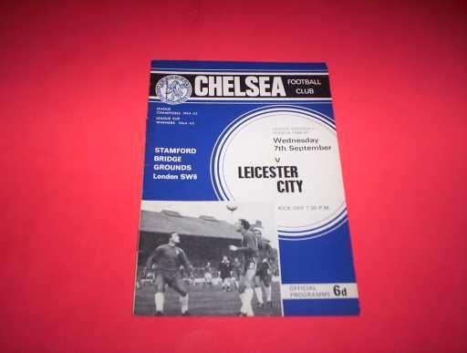 LEAGUE 1960s » 1966/67 CHELSEA V LEICESTER