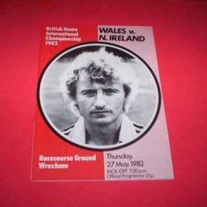 1982 WALES V NORTHERN IRELAND