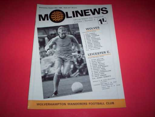 LEAGUE 1960s » 1968/69 WOLVES V LEICESTER