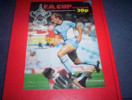 LGE V NON LGE IN FA CUP » 1982/83 COVENTRY V WORCESTER FA CUP