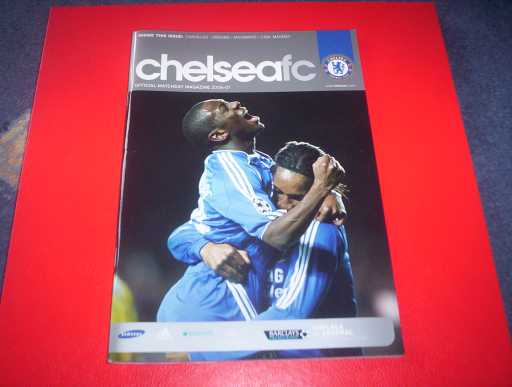 LEAGUE 2000s » 2006/07 CHELSEA V ARSENAL