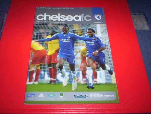LEAGUE 2000s » 2006/07 CHELSEA V TOTTENHAM