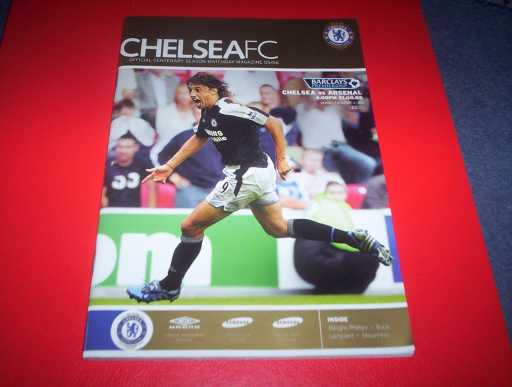 LEAGUE 2000s » 2005/06 CHELSEA V ARSENAL