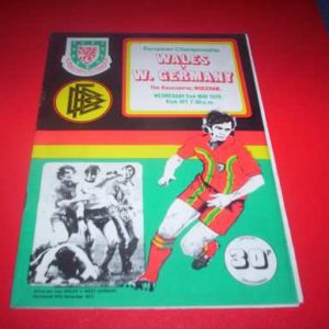 1979 WALES V WEST GERMANY
