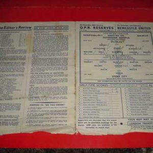 1951/52 TOTTENHAM V STOKE
