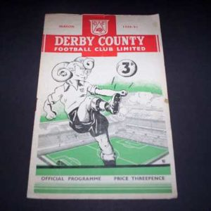 1950/51 DERBY COUNTY V MIDDLESBROUGH
