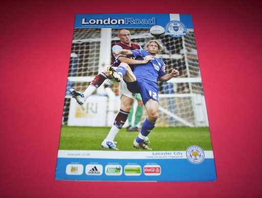 LEAGUE 2010s » 2010/11 PETERBOROUGH V LEICESTER