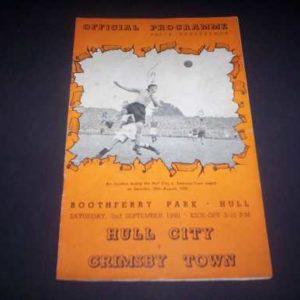 1950/51 HULL V GRIMSBY