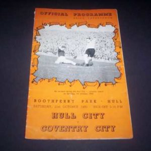 1950/51 HULL V COVENTRY