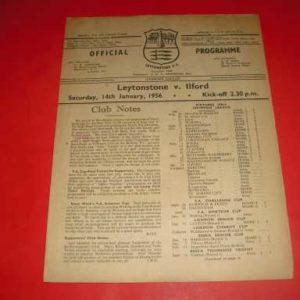 1955/56 LEYTONSTONE V ILFORD