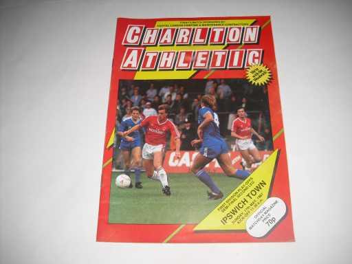 PLAY OFF SEMI FINALS » 1986/87 CHARLTON V IPSWICH PLAY OFF S/F