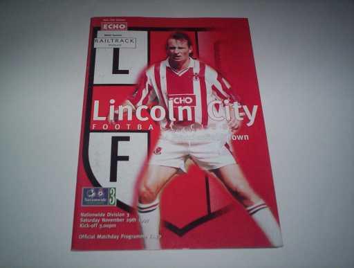 LEAGUE 1990s » 1997/98 LINCOLN V MACCLESFIELD