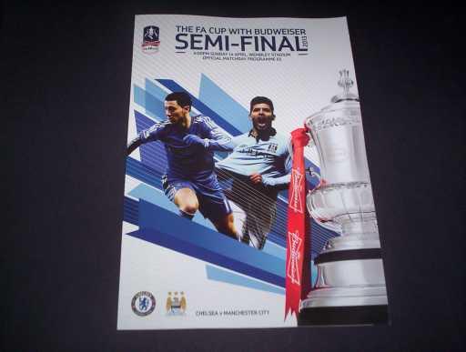 FA CUP SEMI FINALS » 2013 CHELSEA V MAN CITY FA CUP SEMI FINAL