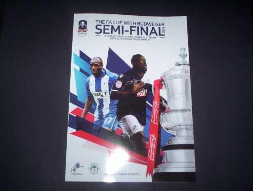 FA CUP SEMI FINALS » 2013 MILLWALL V WIGAN FA CUP SEMI FINAL
