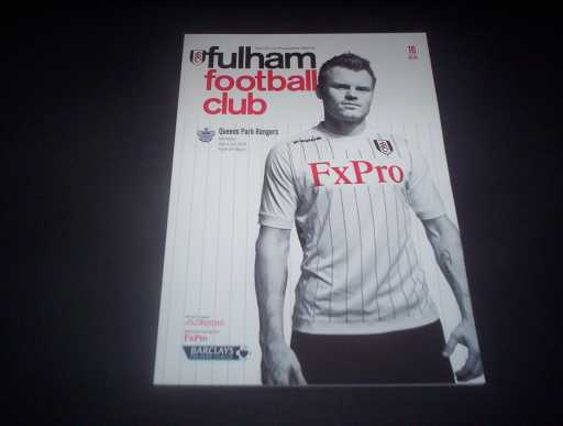 LEAGUE 2010s » 2012/13 FULHAM V QPR