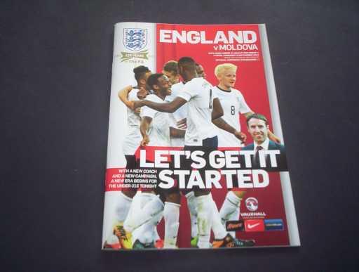 ENGLAND U18-23 » 2013 ENGLAND U21 V MOLDOVA U21 @ READING