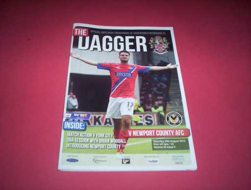 LEAGUE 2010s » 2013/14 DAGENHAM V NEWPORT