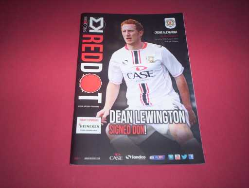 LEAGUE 2010s » 2013/14 MK DONS V CREWE