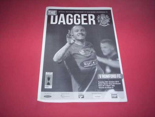 LEAGUE 2010s » 2013/14 DAGENHAM V ROMFORD ESSEX SENIOR CUP