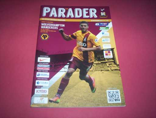 LEAGUE 2010s » 2013/14 BRADFORD V WOLVES