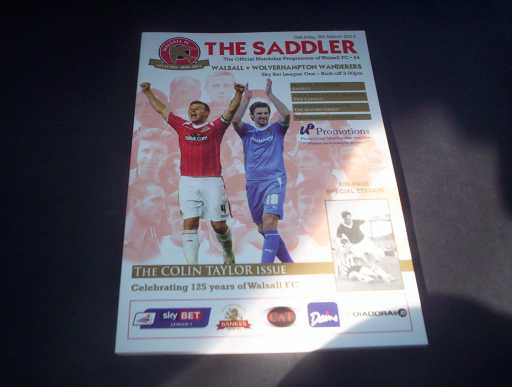 LEAGUE 2010s » 2013/14 WALSALL V WOLVES