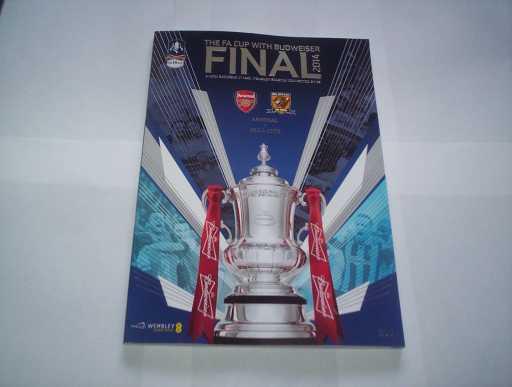 FA CUP FINALS » 2014 ARSENAL V HULL FA CUP FINAL