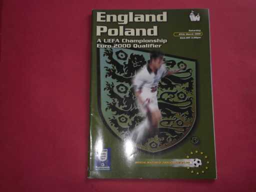 ENGLAND HOMES » 1999 ENGLAND V POLAND
