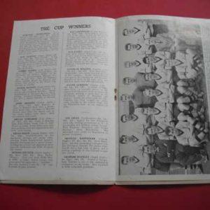 1958 BOLTON V WOLVES CHARITY SHIELD