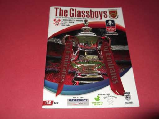 NON LEAGUE » 2015/16 STOURBRIDGE V KIDDERMINSTER FA CUP