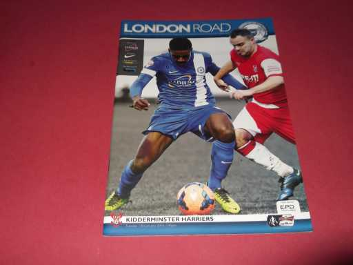 LGE V NON LGE IN FA CUP » 2013/14 PETERBOROUGH V KIDDERMINSTER FA CUP