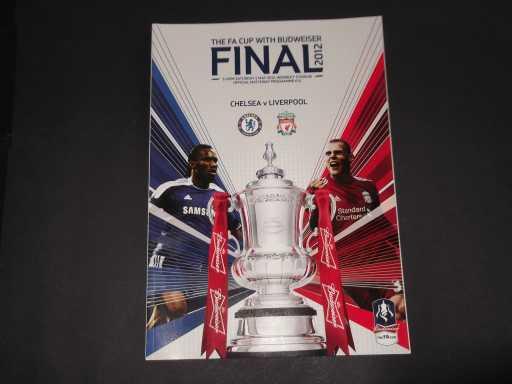 FA CUP FINALS » 2012 CHELSEA V LIVERPOOL FA CUP FINAL