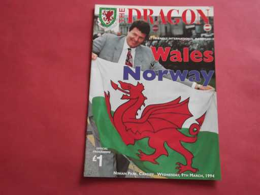 WALES » 1994 WALES V NORWAY