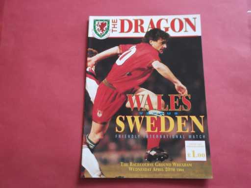 WALES » 1994 WALES V SWEDEN