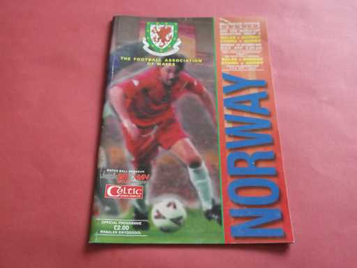 WALES » 2000 WALES V NORWAY WORLD CUP