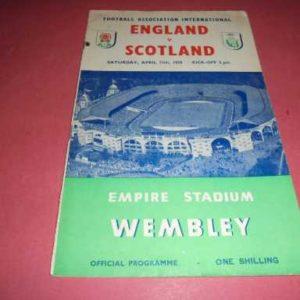 1959 ENGLAND V SCOTLAND