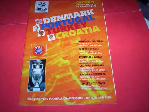 FOREIGN INTERNATIONALS » 1996 DENMARK