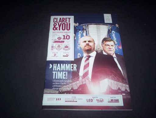 LEAGUE 2010s » 2013/14 BURNLEY V WEST HAM LEAGUE CUP