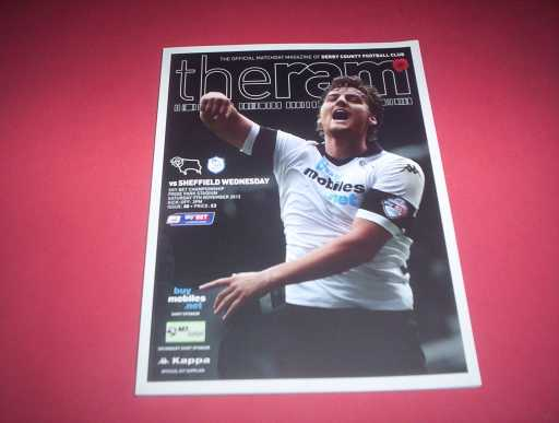 LEAGUE 2010s » 2013/14 DERBY COUNTY V SHEFFIELD WEDNESDAY