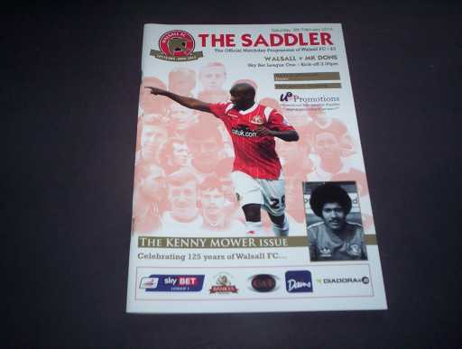 LEAGUE 2010s » 2013/14 WALSALL V MK DONS