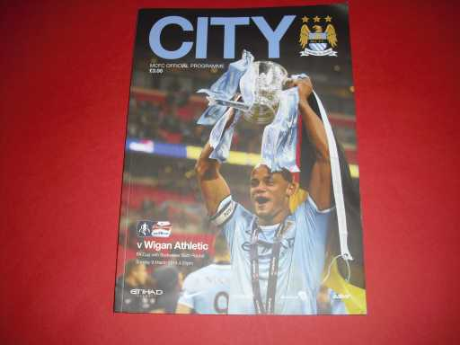 LEAGUE 2010s » 2013/14 MAN CITY V WIGAN FA CUP