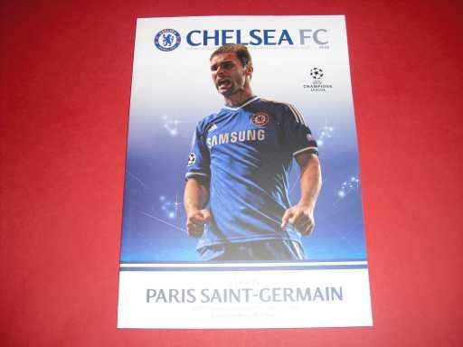 BRITISH CLUBS IN EUROPE » 2013/14 CHELSEA V PARIS SAINT-GERMAIN CHAMP LGE