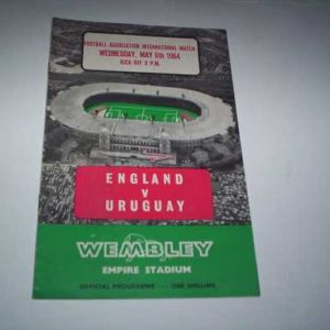 1964 ENGLAND V URUGUAY