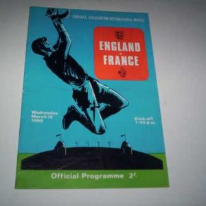 1969 ENGLAND V FRANCE