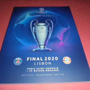 2020 CHAMPIONS LEAGUE FINAL PSG V BAYERN MUNICH