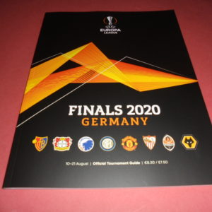 2020 EUROPA LEAGUE LAST 8 TOURNAMENT GUIDE