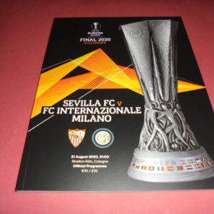 2020 EUROPA LEAGUE FINAL SEVILLE V INTER MILAN