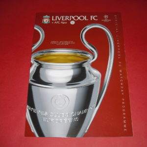 2020/21 LIVERPOOL V AJAX CHAMP LGE